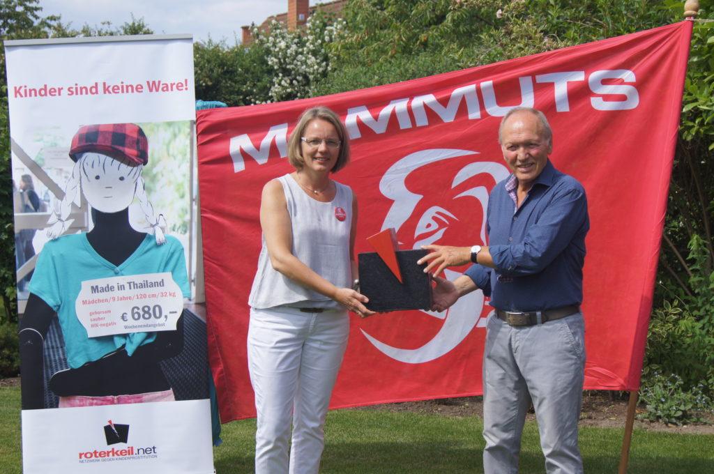 Elke Wirtz (Mammuts) & Werner Bussmann (rotekeil.net)